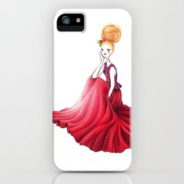 Velvet Christmas iPhone Case