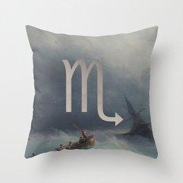 Fine Zodiac / Scorpio Throw Pillow