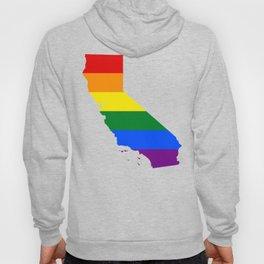 California LGBT Pride Flag (Gay Pride) Hoody