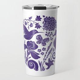 La vie en ultra violet Travel Mug