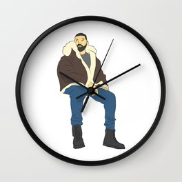 Drake Views Wall Clock