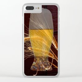 Beer & Barley Clear iPhone Case