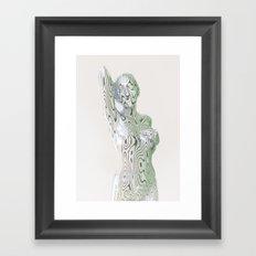 Liz Silver Framed Art Print