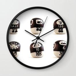 stoneheads 001 Wall Clock