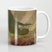 jane eyre Mugs featuring Jane by Robin Curtiss