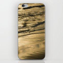 Golden Waves iPhone Skin