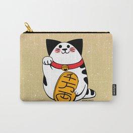 Teh as Maneki Neko Cat Carry-All Pouch
