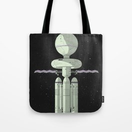 Tales of Pirx the Pilot Tote Bag