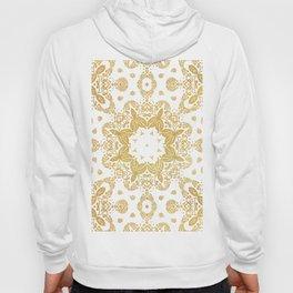 Golden pattern Hoody
