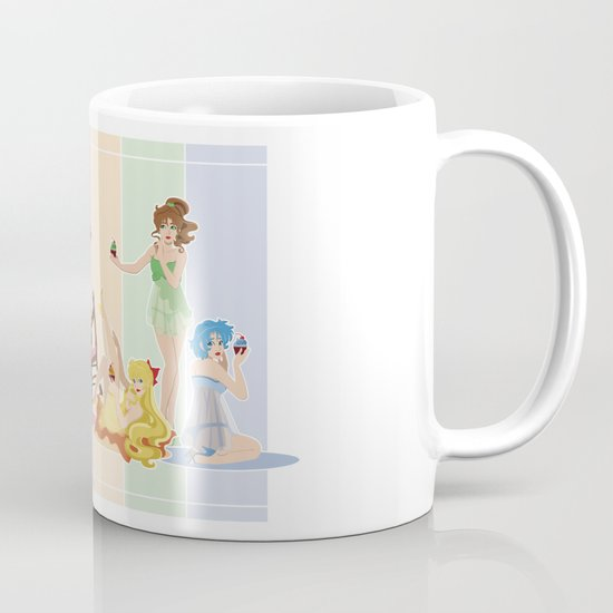 Sailor Moon Pinup - Cupcakes Mug
