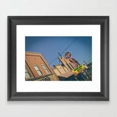 Plaza Theatre Framed Art Print