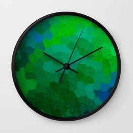 Life in the deep Wall Clock