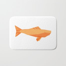 Origami Carp Bath Mat