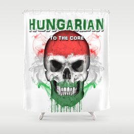 To The Core Collection: Hungary Shower Curtain