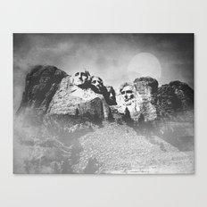 Rushmore at Night Canvas Print