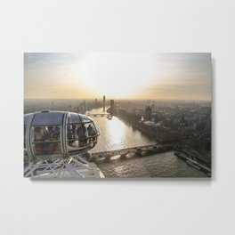 View from the Eye Metal Print