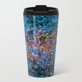 Water Color - Orange Travel Mug
