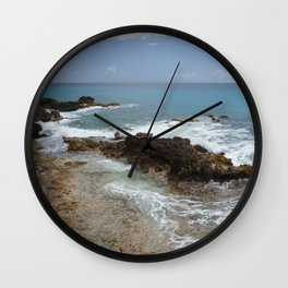 Ocean's Dance Wall Clock