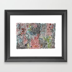And Everything Is Where It Ought To Be Framed Art Print
