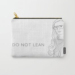 """""""DO NOT LEAN"""" ANDY BOAY Carry-All Pouch"""