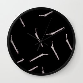 All My Joints Black Wall Clock