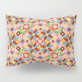 Pink Patchwork Quilt (printed) Pillow Sham