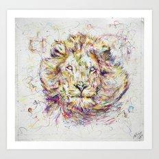 Lion // Tarmuk Art Print