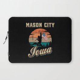 Mason City Iowa Laptop Sleeve