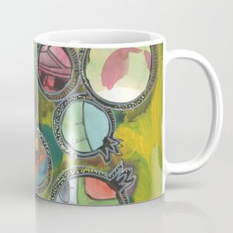 Colorful pomegranates collage series 3/7 Coffee Mug