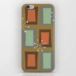 Mid Century Modern Art 'Wonky Doors' iPhone Skin