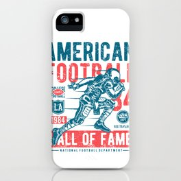 American Football Hall of Fame iPhone Case