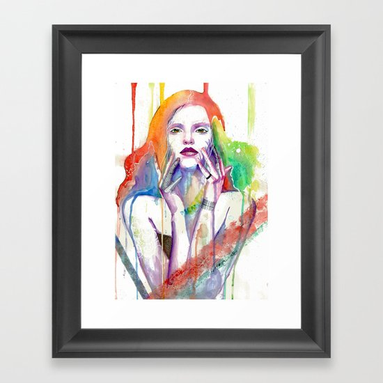 Nobody Knows Framed Art Print