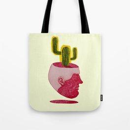 cactus man Tote Bag