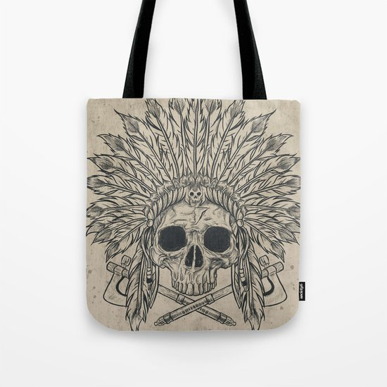 The Dead Chief Tote Bag