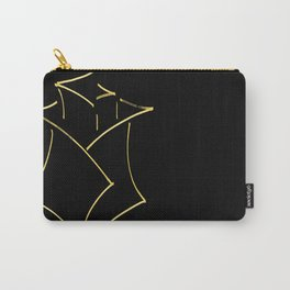 Yellow Rose (Rose Alix) Carry-All Pouch