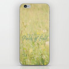 Fields of Gold  iPhone Skin