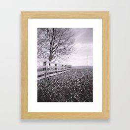 Kentucky Hillside Framed Art Print