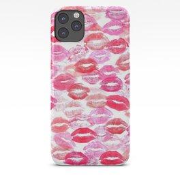 Barbie Kisses Pattern iPhone Case