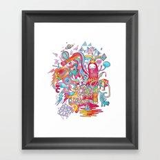 Together We're Awesome! Framed Art Print