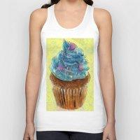 cupcakes Tank Tops featuring Cupcakes by A.Aenska-Cholpanova