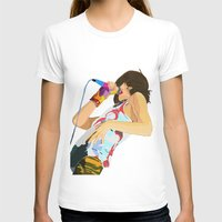 karen hallion T-shirts featuring Karen O-h mah lord  by Tropidarks