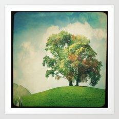 L'arbre Art Print