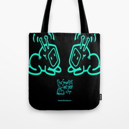 Yaya´s T.V Pets staring at Eachother Tote Bag
