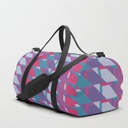 Abstract Drama #society6 #violet #pattern Duffle Bag