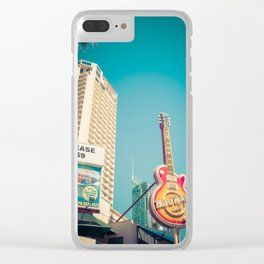 Iconic Surfers Paradise Clear iPhone Case