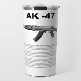 AK-47 History Travel Mug