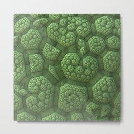 Dinosaur Skin Metal Print