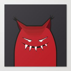 Evil Monster With Pointy Ears Canvas Print