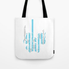 Stripe Scull Tote Bag