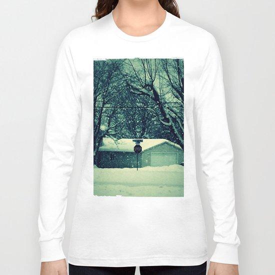 Stop snowing Long Sleeve T-shirt